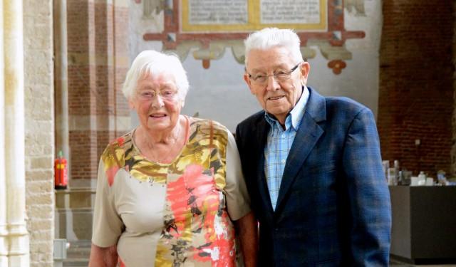 Vijfenzestig jaar getrouwd