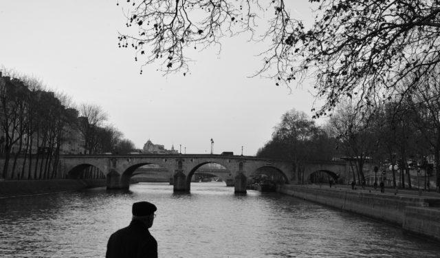 Parijs zwart wit